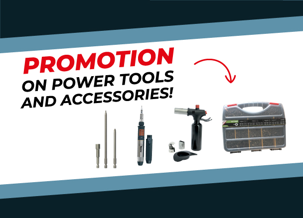 Promotion on power tools and accessories